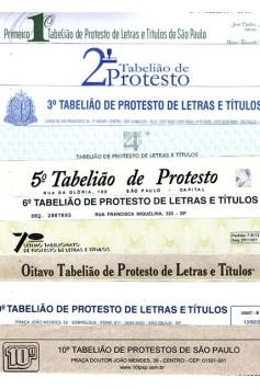 Certidão dos 10 Cartórios de Protesto (Pessoa Jurídica)