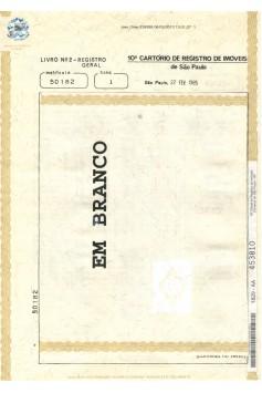 Certidão de Matrícula Atualizada  (Emitida pelo Número)